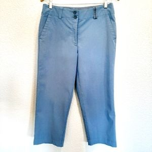 Nike Golf Baby Blue Cropped Pants Size 6